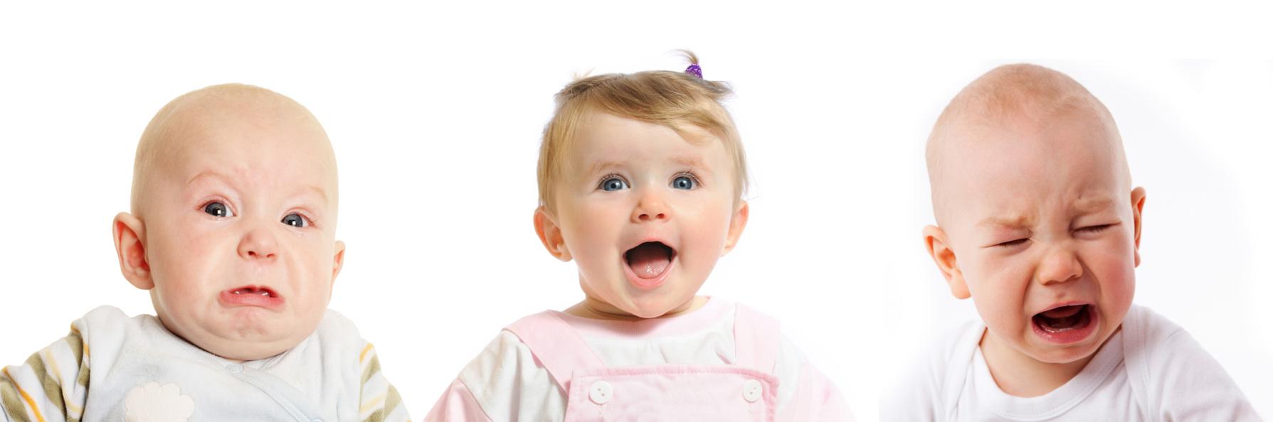 Фото детей с разным настроением