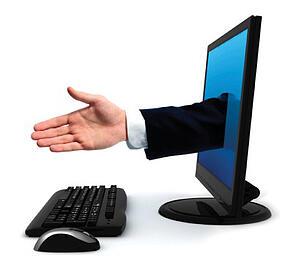 computer handshake