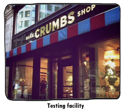 Crumbs cupcakes shop