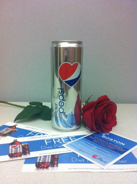 Diet Pepsi Vday