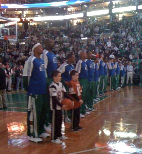 Celtics anthem