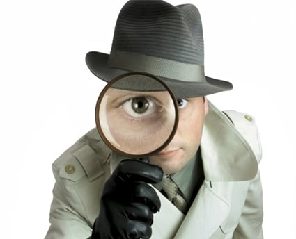 detective magnifying glass