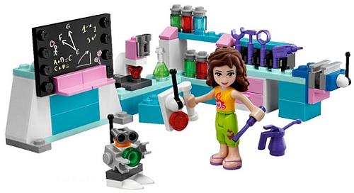 LEGO Friends Olivias Workshop