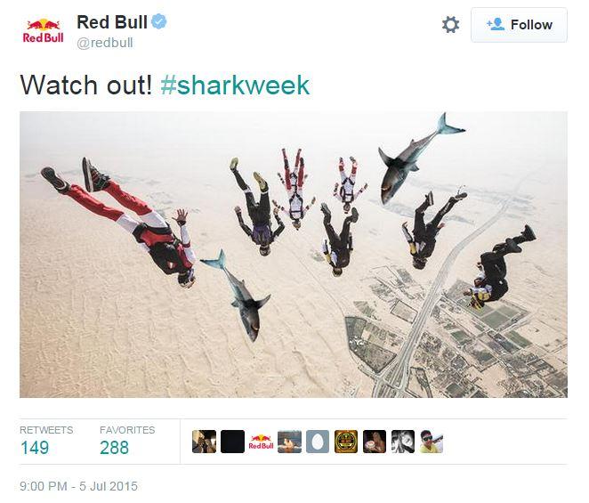 shark week, brand engagement, television