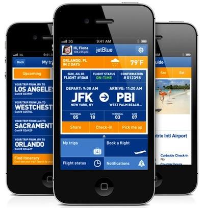 Jet Blue app