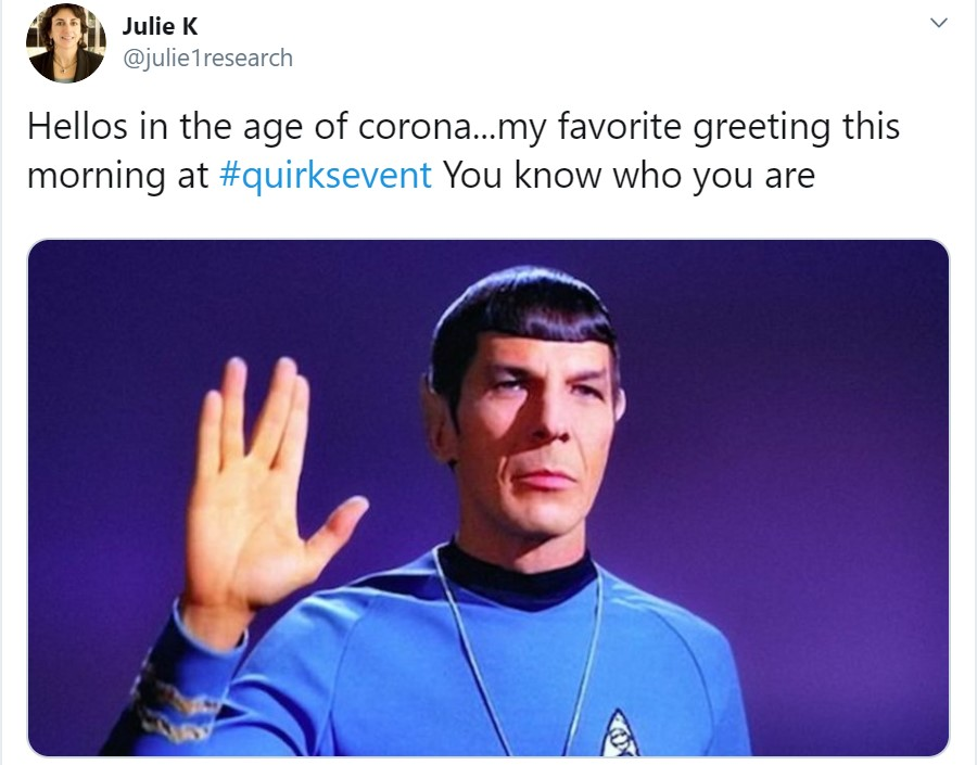 Julie Kurd Quirks Brooklyn Spock Tweet
