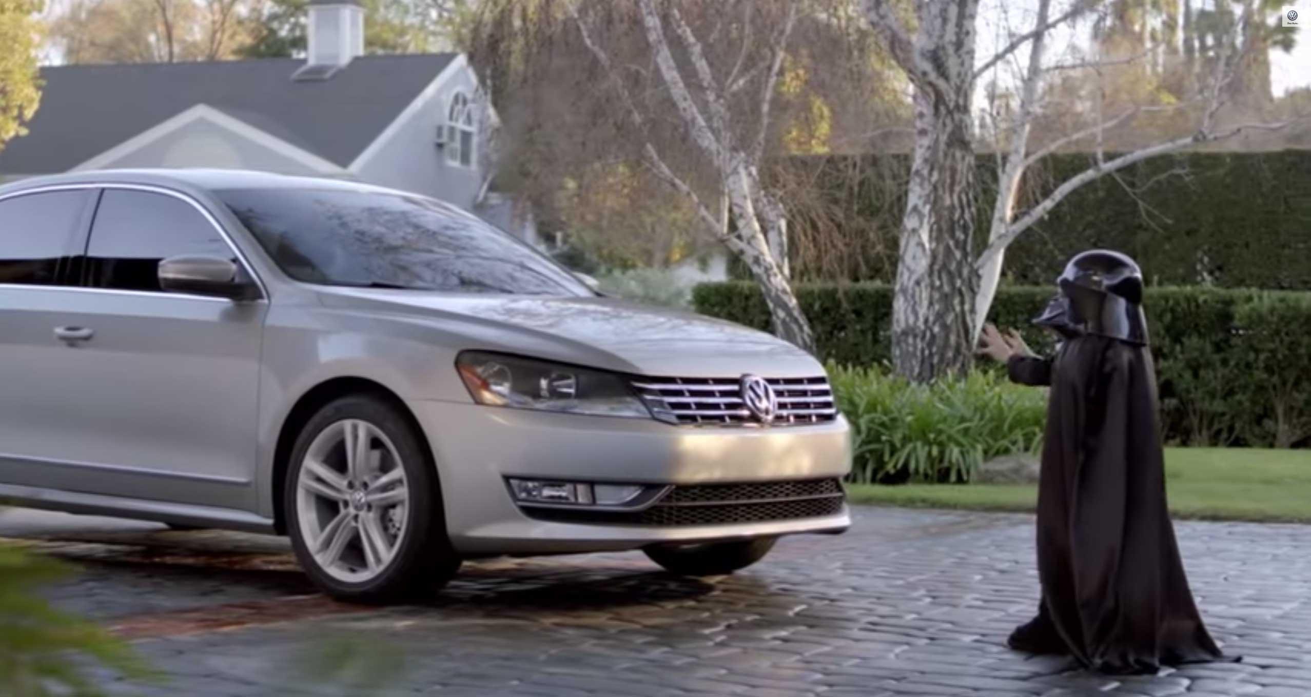 Volkswagen Darth Vader Commercial
