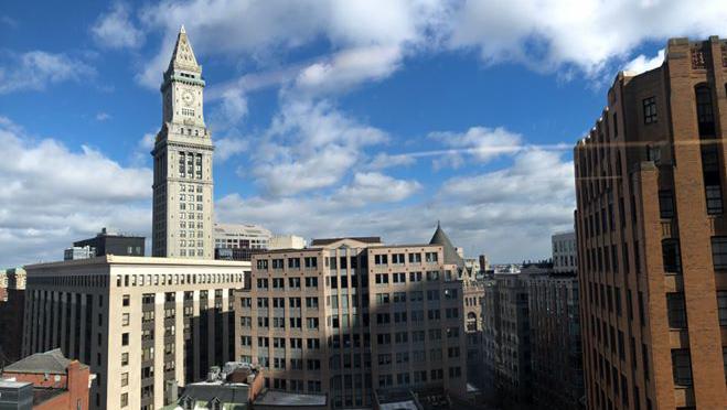 View of Downtown Boston