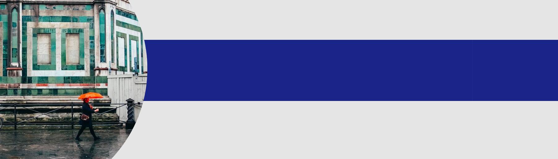 Orange and Blue Header Option